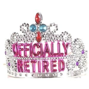 Other - New Officially Retired Retirement Party Tiara